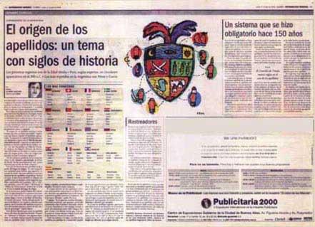 Diario Clarín – 17/04/2000